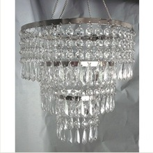 crystal beads hanging chandelier