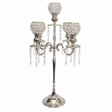 crystal clear candelabra