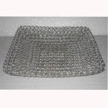 Crystal decoration tray