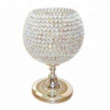 crystal wedding centerpiece table