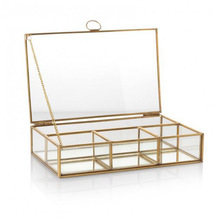 Glass partition box