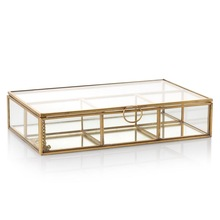 glass partition storage box