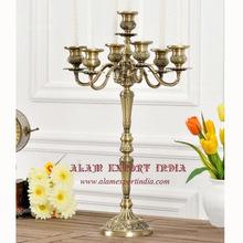 gold emboss candelabra