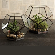 handmade Glass Flower box