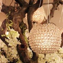 hanging crystal ball