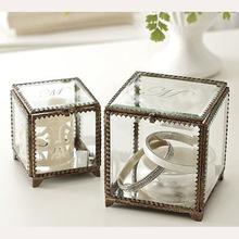 Magnifier jewelry box