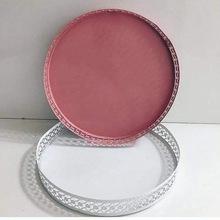 metal cake plate stand