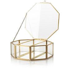 Rectangle Glass Jewelry Box