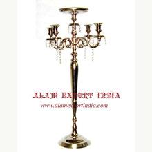 silver gold candelabra