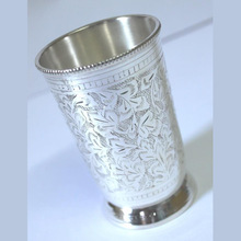 Silver plated Brass Drinking Glass