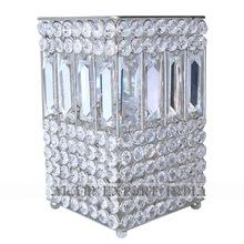 silver votive candle holder