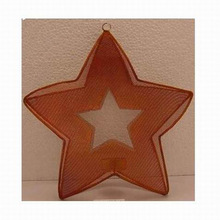 star mesh candle holder