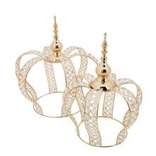 tea light holder crystal crown