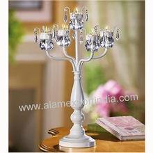 tea light wedding candelabra