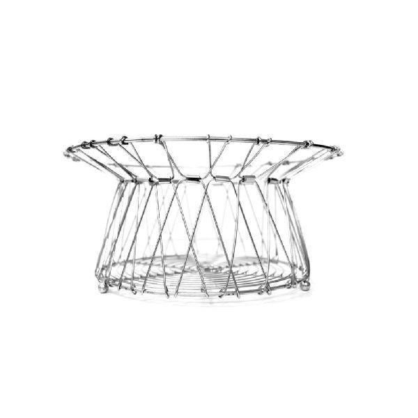 Handmade Iron Wire Folding Basket