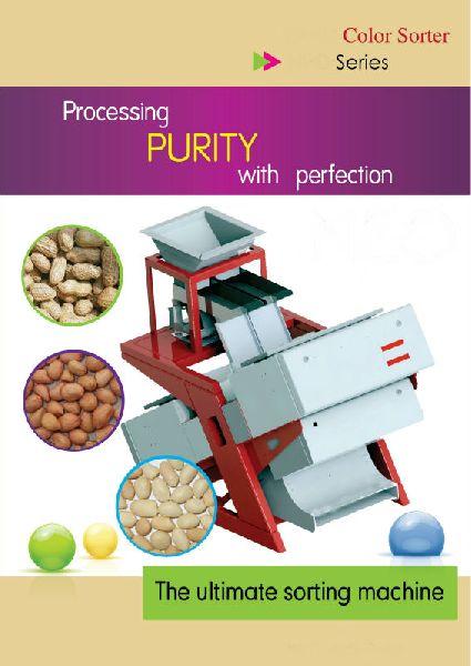 Peanut Roasting color sorter machine