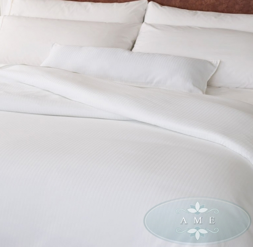 Satin Stripe Bed Sheet-02