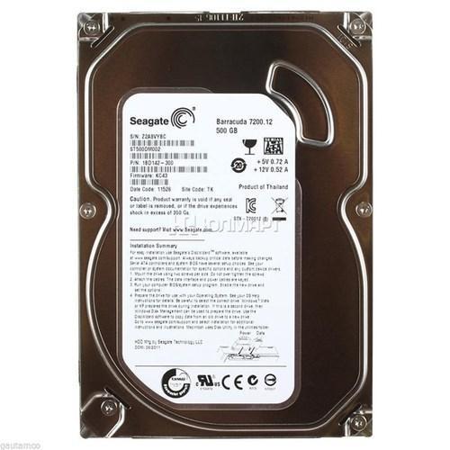 SEAGATE 500 GB HARD DRIVE (ST3500414CS)