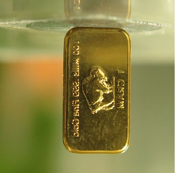1 Gram 100 Mils 24k Pure Gold Plated