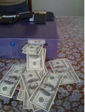 automatic money cleaning machine