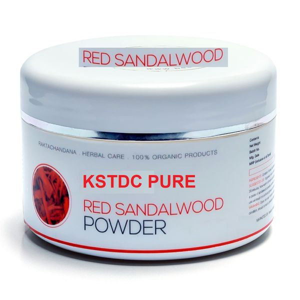 kstdc red sandalwood powder