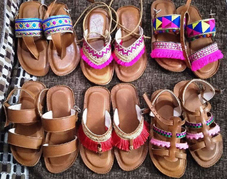 6d17d1647ba0b Designer Handmade Kids Comfort Sandal Shoe Manufacturer in Gujarat ...