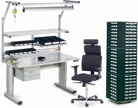 Fabulous Esd Workbench Workstations Manufacturer In Bengaluru Ocoug Best Dining Table And Chair Ideas Images Ocougorg