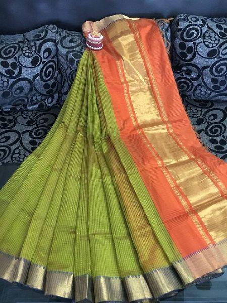 Hand woven mangalagiri silk cotton sarees