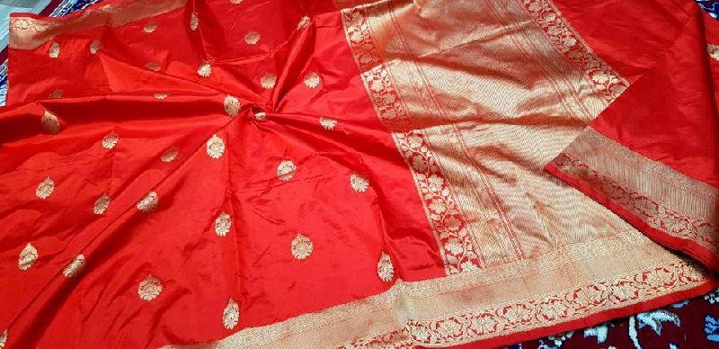 Pure silk katan handloom khadi Sarees with banarasi kadwa buta