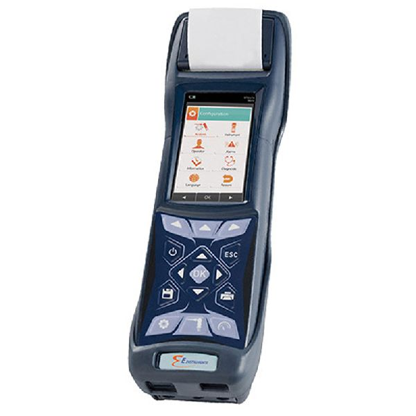 Portable Industrial Combustion Gas And Emissions Analyzer
