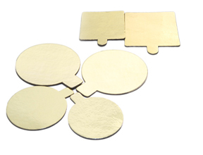 CAKE BOARD AND BAKING MOULDS