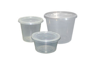 PLASTIC MICROWAVE CLEAR CONTAINER