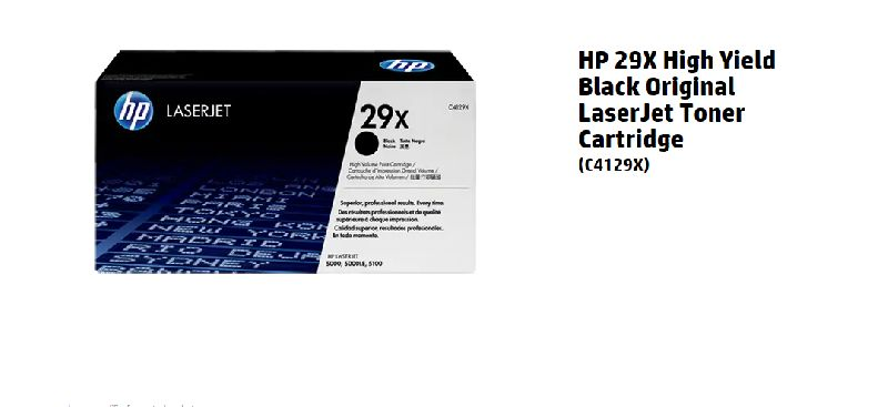 HP 644A DISCONTINUED BY MANUFACTURER Q6460A Toner Cartridge Black