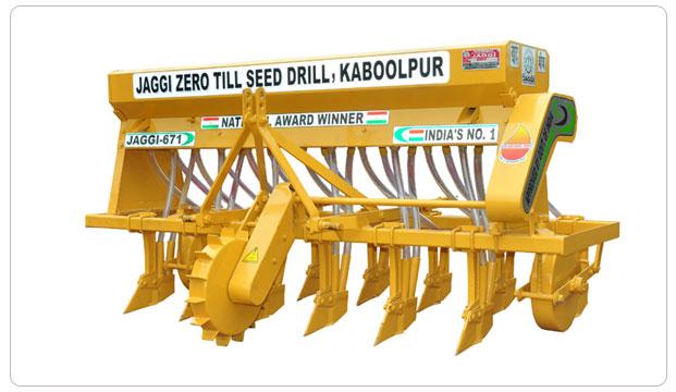 Zero Till Seed Drill