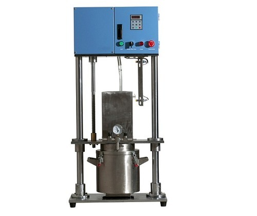 5L Electric Vacuum Mixer with Single Axis Helical Blade