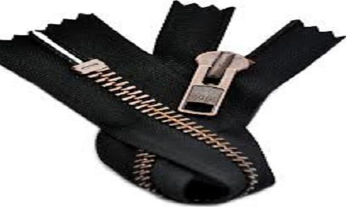 copper finish zipper