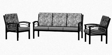 Pleasant Sofa Set For Five People Manufacturer In Mumbai Maharashtra Evergreenethics Interior Chair Design Evergreenethicsorg