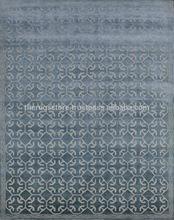 Wool & Art Silk Tibetan Rugs