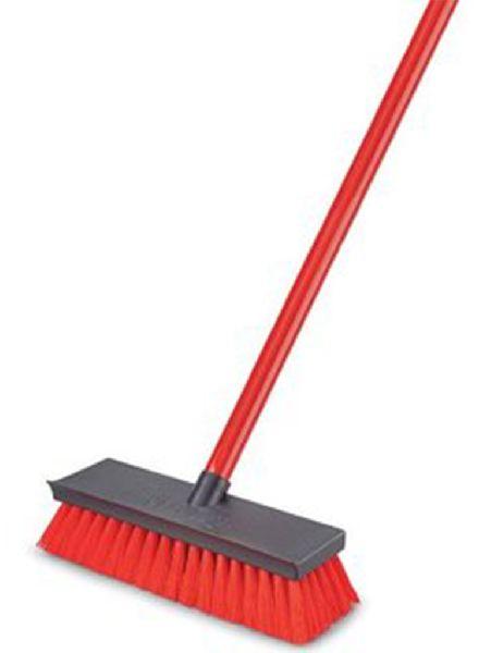 Reflex Hard Brush Red w/Handle
