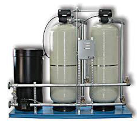 Commercial Softeners & Multi-Media Filtration System