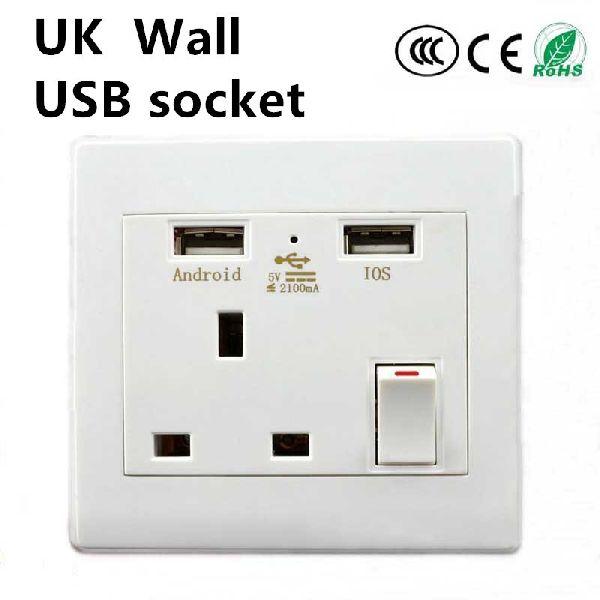 USB Socket Wall Face Plate