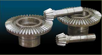 Spiral Bevel Gear & Straight Bevel Gear