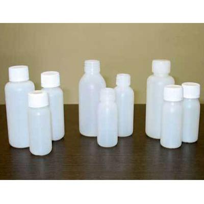 Plastic syrup bottle