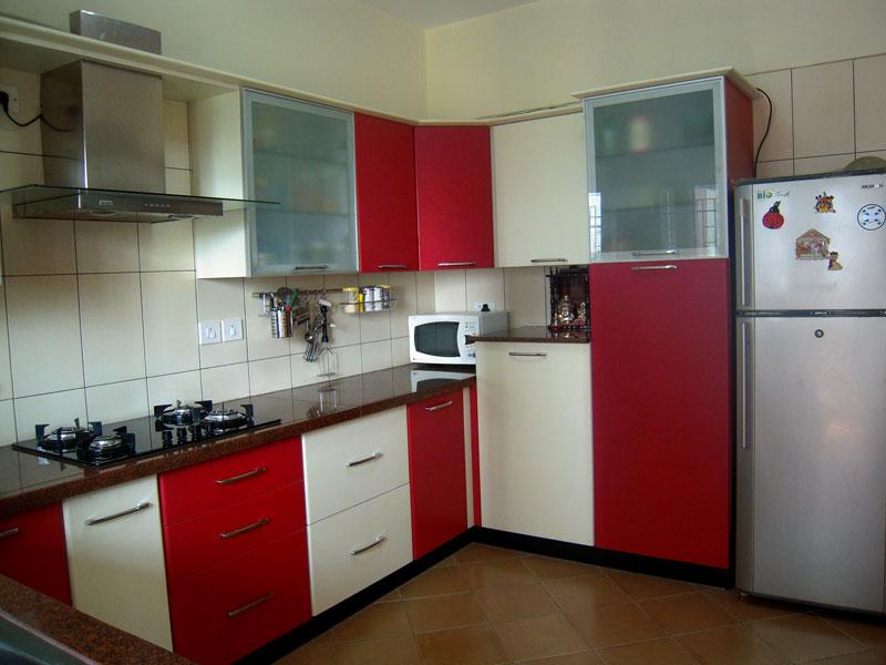 Modern Kitchen By Rita Decorators Modern Kitchen Inr Approx Id 4228933