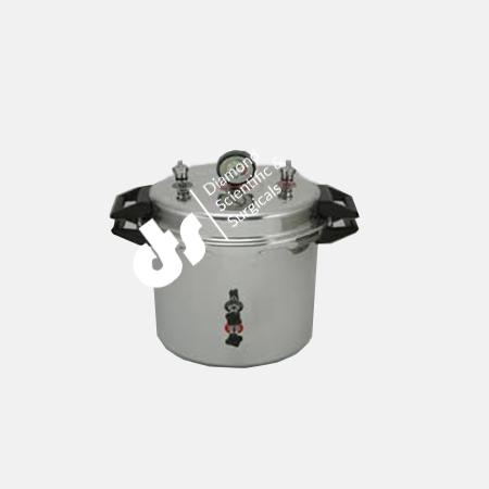 Pressure Cooker Type Portable Autoclave