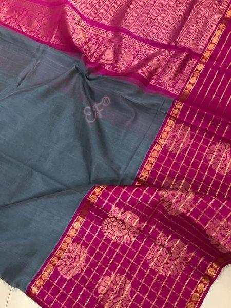Pure Handloom High Quality Designer Weaving Kuppadam sarees