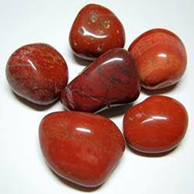 Blood Red Pebble Stone
