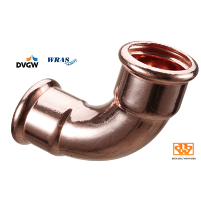 Copper Press Fitting For Plumbing
