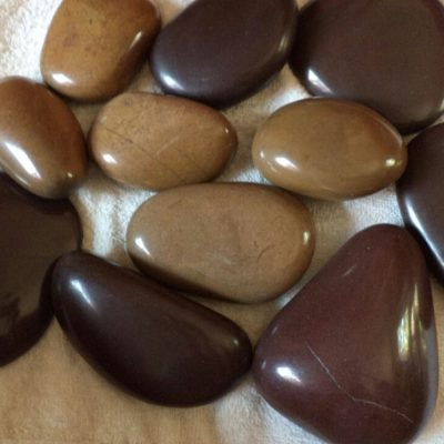 Mixed Brown Pebbles