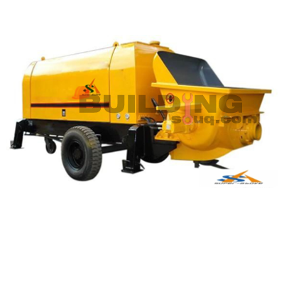 Mobile Diesel Concrete Trailer Pump
